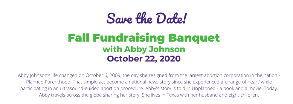 Banquet 2020 Save the Date - landing page